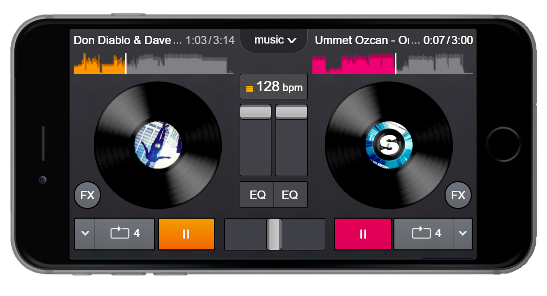YOU DJ - MIX MUSIC ONLINE for free :)