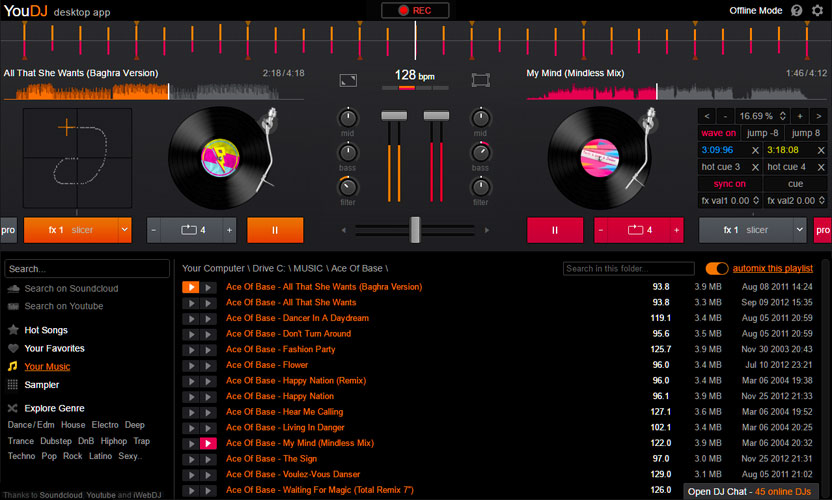 YOU.DJ DOWNLOAD - Download the YOU.DJ software (mix your